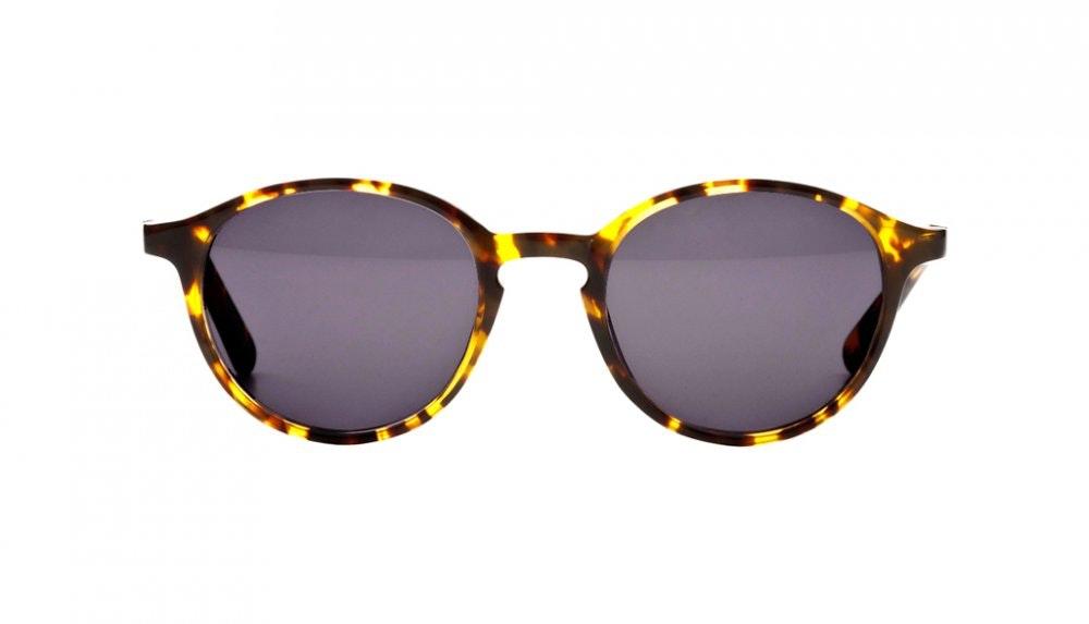 Affordable Fashion Glasses Round Sunglasses Women J'adore Tortoise Front