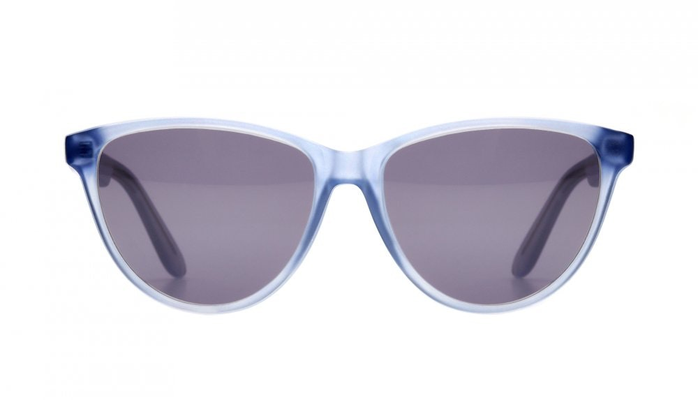 Affordable Fashion Glasses Cat Eye Sunglasses Women Twinkle Toes Frosted Cloud Front
