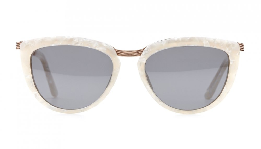 Affordable Fashion Glasses Cat Eye Sunglasses Women Cannes Pearl Front