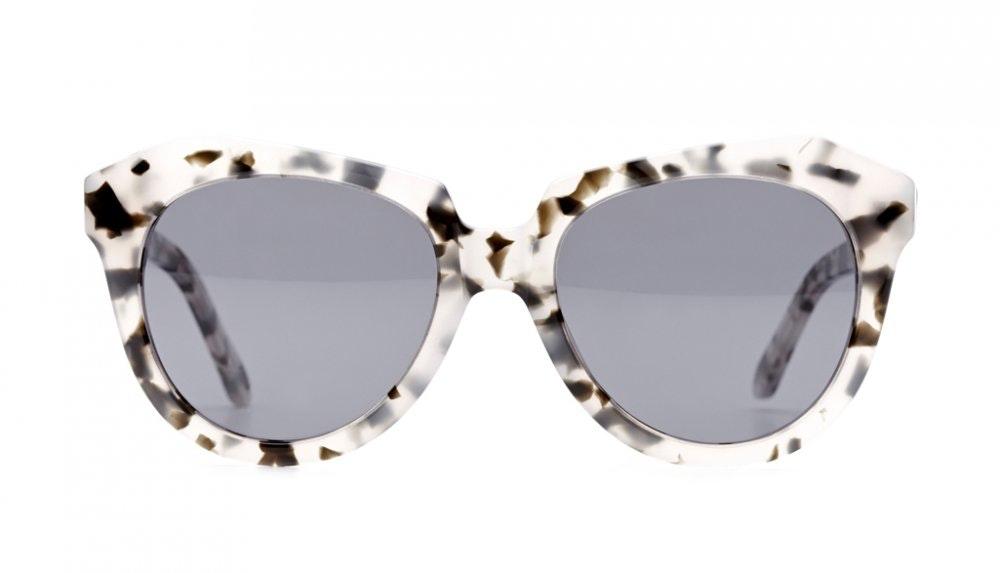 Affordable Fashion Glasses Cat Eye Sunglasses Women Ipanema White Tortoise Front