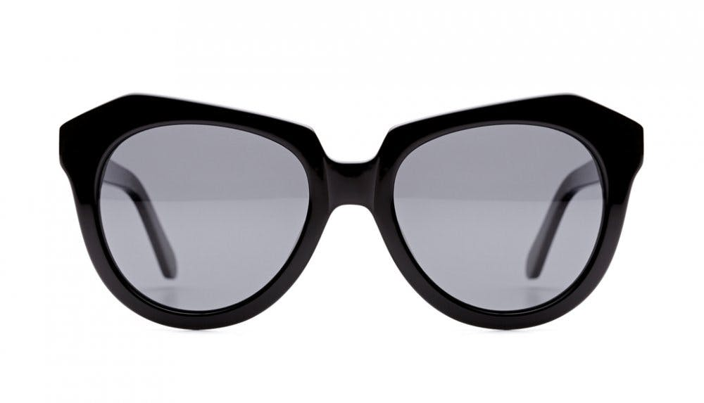 Affordable Fashion Glasses Cat Eye Sunglasses Women Ipanema Black Front
