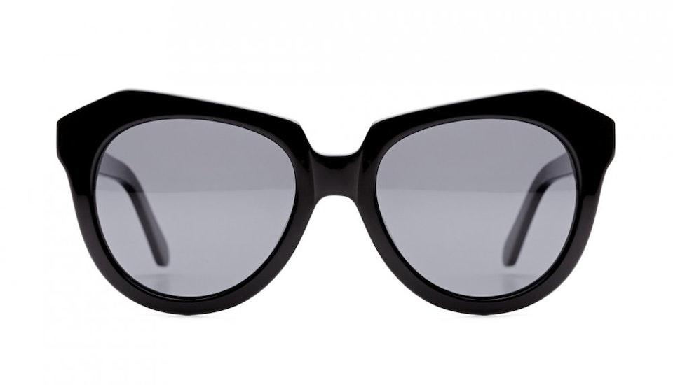 Affordable Fashion Glasses Cat Eye Sunglasses Women Ipanema Black Front