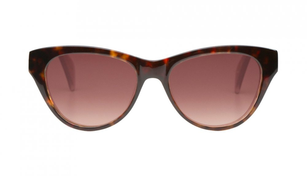 Affordable Fashion Glasses Cat Eye Sunglasses Women La Marquise Tortoise Front
