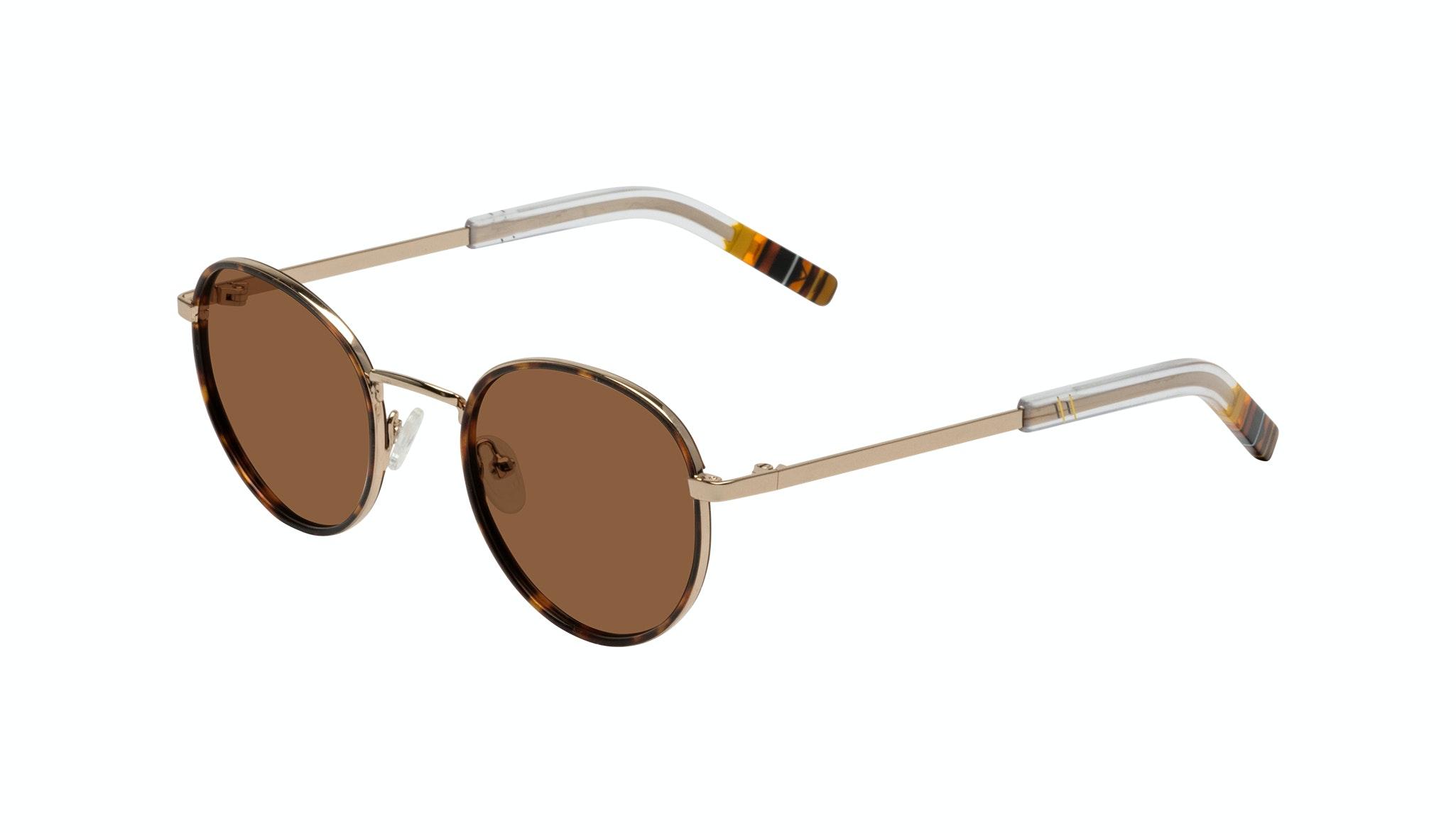 Affordable Fashion Glasses Round Sunglasses Men Reach Tortoise Tilt