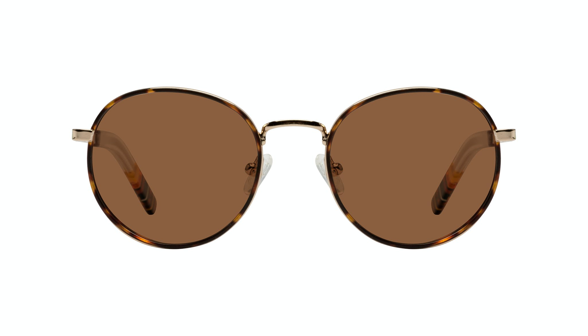 Affordable Fashion Glasses Round Sunglasses Men Reach Tortoise Front