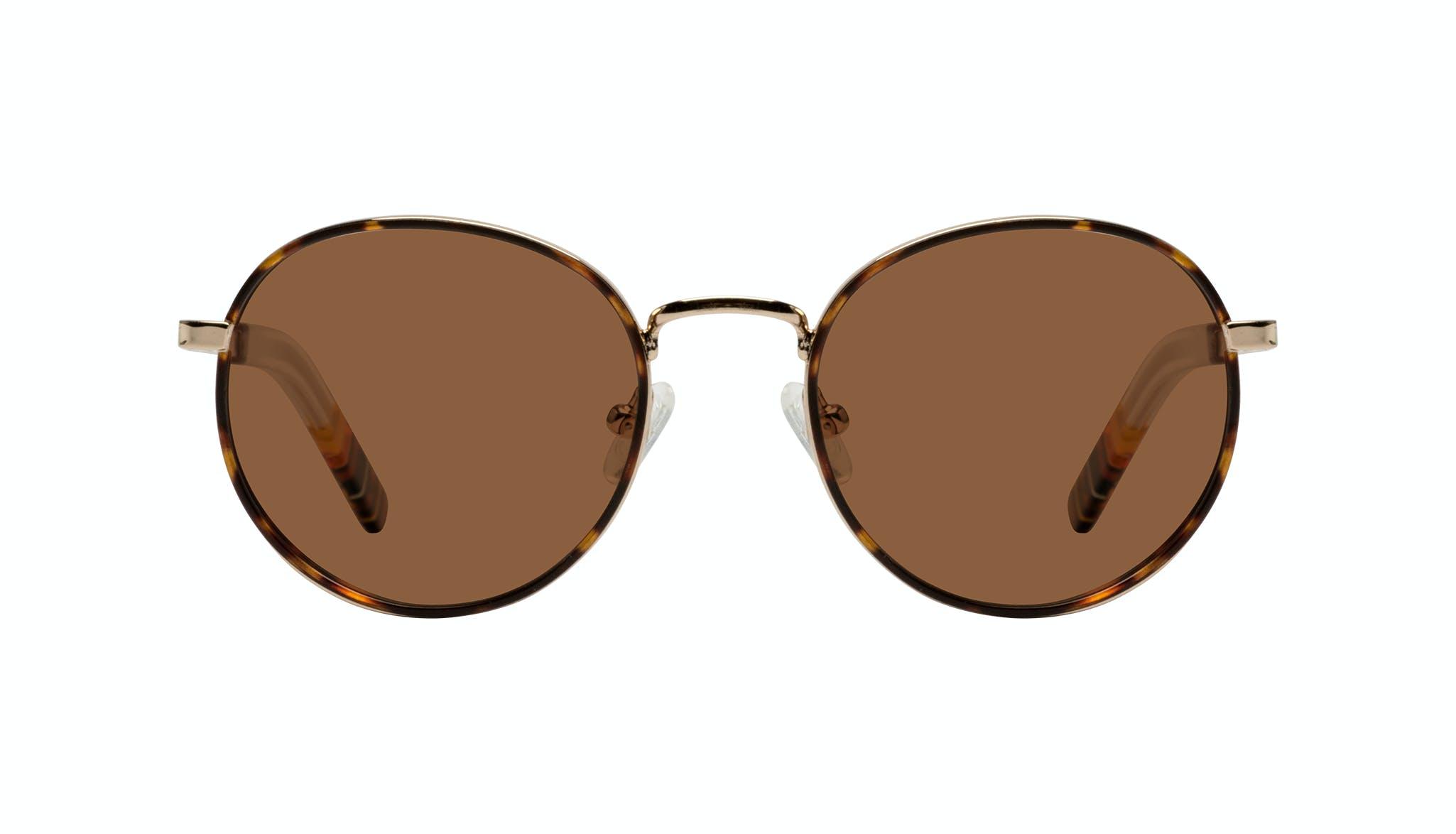 Affordable Fashion Glasses Round Sunglasses Men Reach Tortoise
