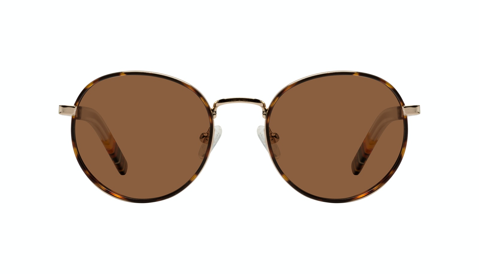 Affordable Fashion Glasses Round Sunglasses Men Reach Tortoise