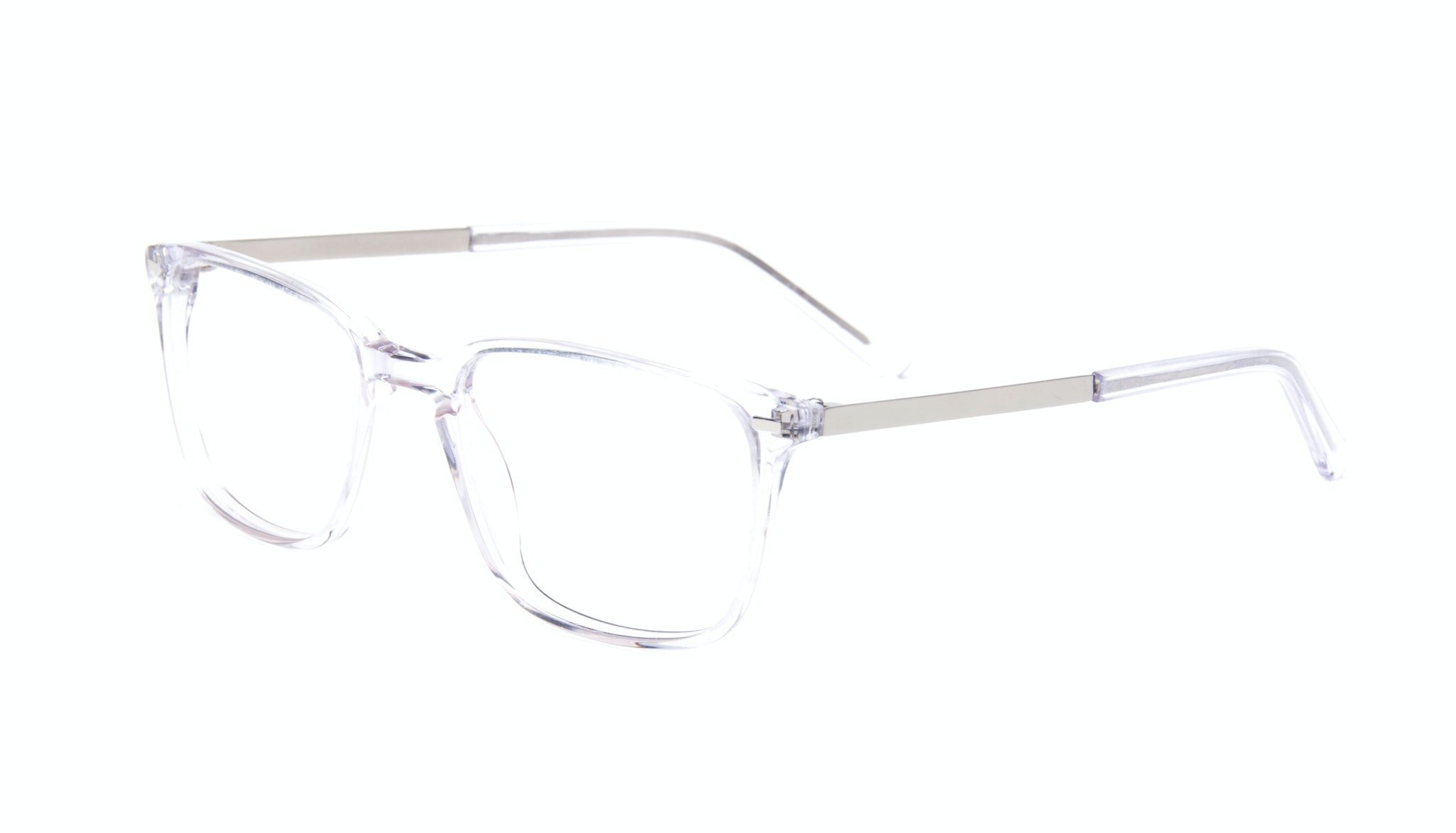 Affordable Fashion Glasses Rectangle Eyeglasses Men Sharp Diamond Tilt