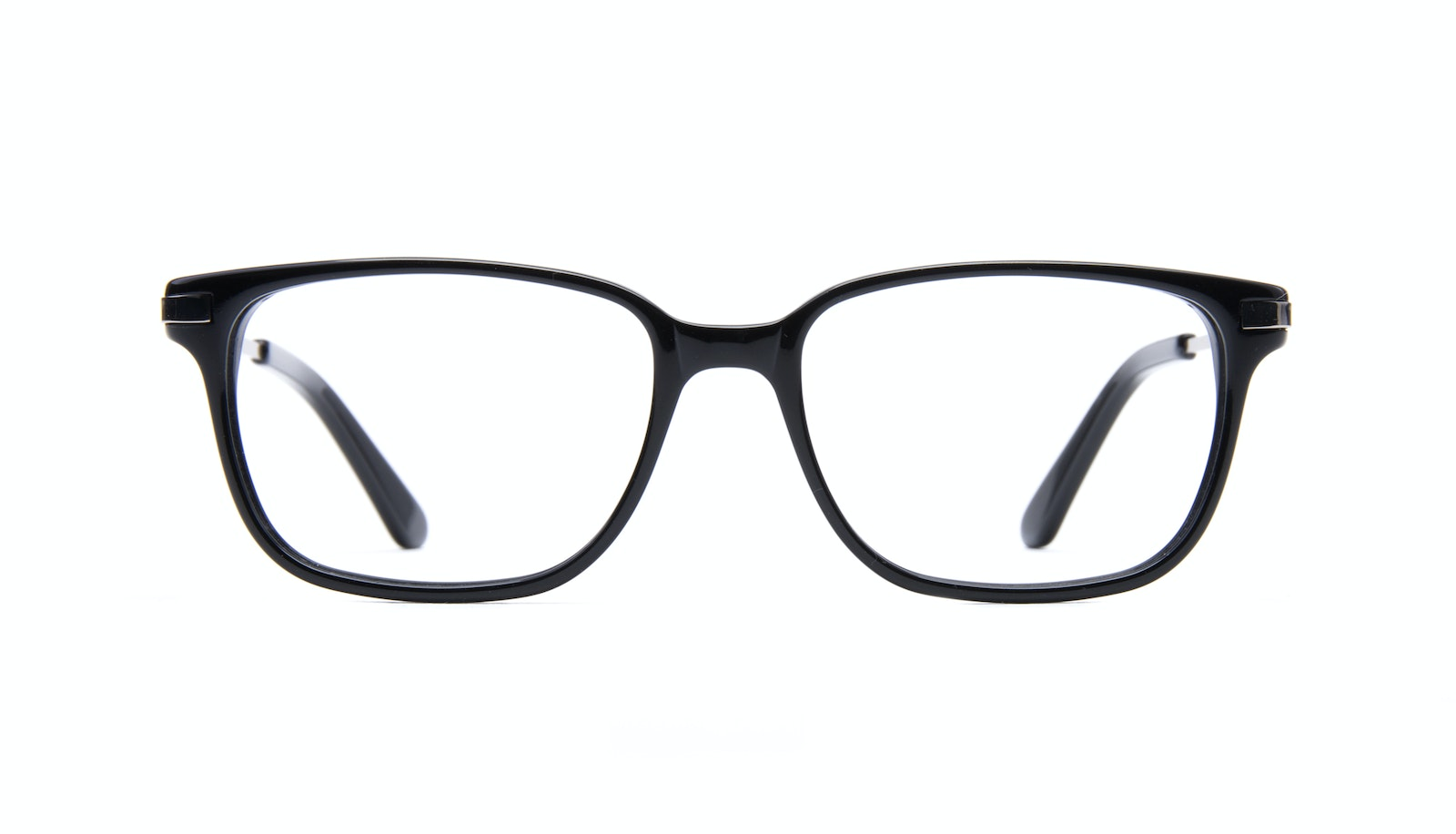 Affordable Fashion Glasses Rectangle Eyeglasses Men Trade Black
