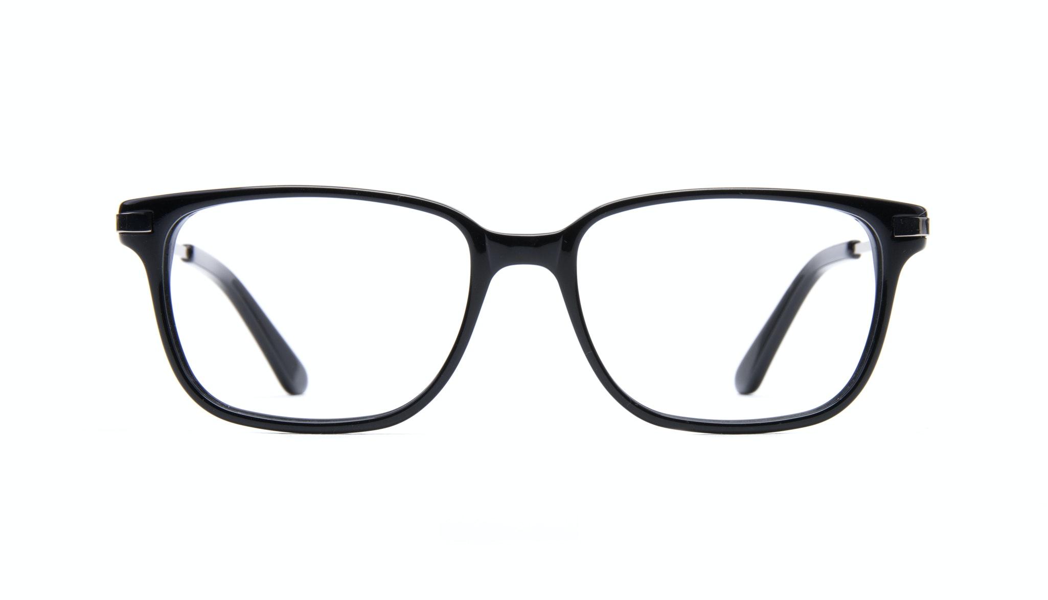 Lunettes tendance Rectangle Optiques Hommes Trade Black