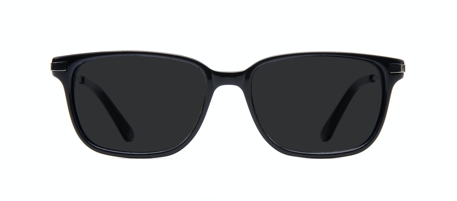 Affordable Fashion Glasses Rectangle Sunglasses Men Trade Black Front