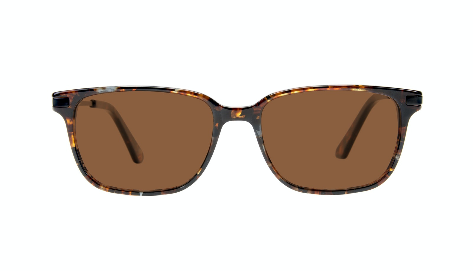 Affordable Fashion Glasses Rectangle Sunglasses Men Trade Mahogany
