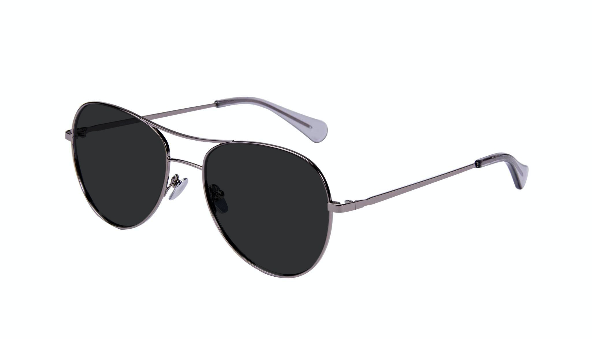 Affordable Fashion Glasses Aviator Sunglasses Women Want Silver Tilt