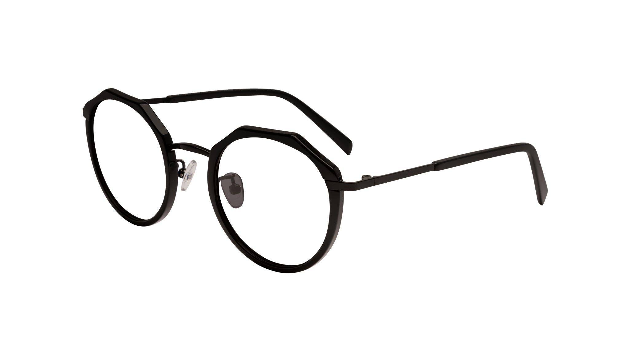 Affordable Fashion Glasses Round Eyeglasses Women Womance Matte Tilt